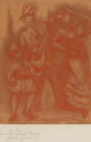 JAKUB ZUCKER (1900-1981), Para, przed 1942