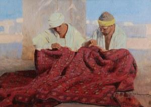 FELIKS MICHAŁ WYGRZYWALSKI (1875-1944), Sprzedawcy dywanów