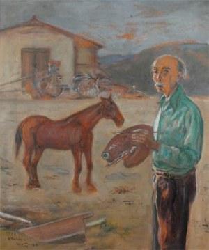 WLASTIMIL HOFMAN (1881-1970), Wspólny los, 1967