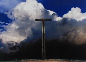 ZDZISŁAW BEKSIŃSKI (1929-2005), Kompozycja z krzyżem