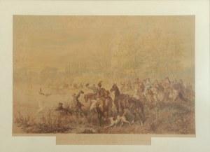Juliusz KOSSAK - według, Jan Sobieski na polowaniu, 1879 r.