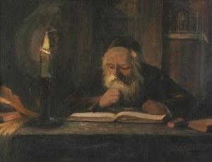 B. SAPIRMAN, XX W., Żyd nad księgą, 1934