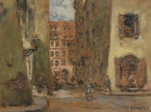 Tadeusz CIEŚLEWSKI - OJCIEC (1870-1956), Wąski Dunaj