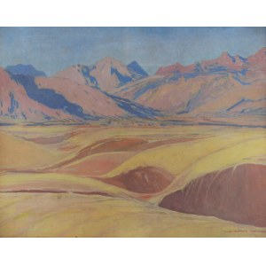 Ludwik DE LAVEAUX (1868-1894), U podnóża gór, 1929