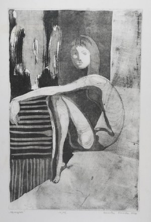 Berenika KORECKA (ur. 1984), Odpoczynek, 2006