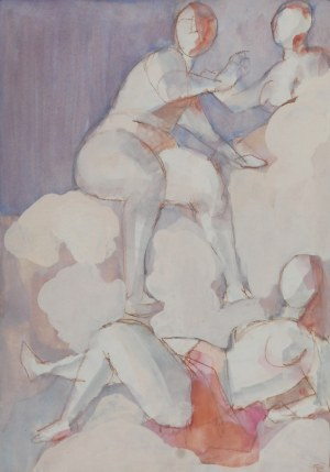 Tomasz KAZIKOWSKI (ur. 1952), Postacie trzech kobiet, 1995