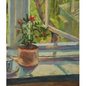Dorota ZYCH-CHARAZIAK (ur. 1964), Otwarte okno, 1989