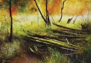 Konrad Hamada, Jesień nad potokiem