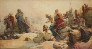 Ilja Jefimowicz Riepin (1844 Czuhujiw – 1930 Kuokkala) Po bitwie pod Korsuniem, 1891 r.