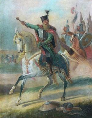 Artysta nieokreślony (1 poł. XIX w.) Stefan Czarniecki na koniu