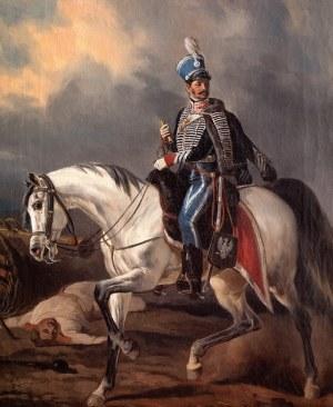 Feliks Sypniewski (1830 Pępowo – 1902 Warszawa) Oficer 13 Pułku Huzarów Księstwa Warszawskiego