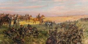 Hans Schmidt (1859–1950) Scena z wojny niemiecko-francuskiej 1870–1871, 1936 r.