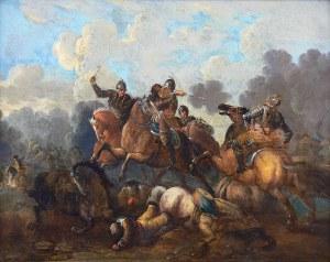 Artysta nieokreślony (Europa Północna, XVII/XVIII w.) Potyczka kawalerzystów