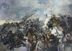Wacław Pawliszak (1866 Warszawa – 1905 tamże) Książę Józef Poniatowski pod Raszynem