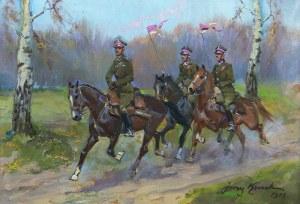 Jerzy Kossak (1886 Kraków – 1955 tamże) Patrol, 1940 r.