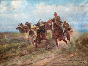 Leonard Winterowski (1868 Kraków – 1927) Potyczka z bolszewikami, 1925 r.