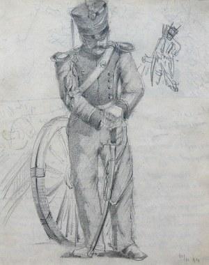 Stanisław Kamocki (1875 Warszawa – 1944 Zakopane) Stary wiarus – studium artylerzysty, 1894 r.
