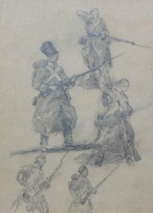 Jerzy Kożuchowski (1893–1967) Szkice do obrazu