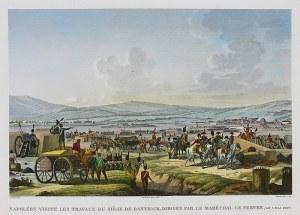 Francois Dequevauvillers (1745–1809) Napoléon visite les Travaux du Siège De Dantzick…
