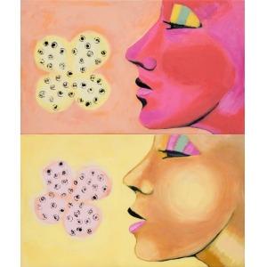 Hanna Pyrzyńska (1957), Wącham kwiat (dyptyk) (2007)