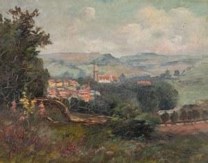 WIDOK MIASTECZKA, 1903