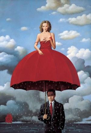 Rafał Olbiński (ur. 1943), Red umbrella