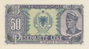 Albania, 50 Leke, 1949, UNC, p25