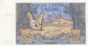 Algeria, 5 Dinars, 1970, UNC, p126