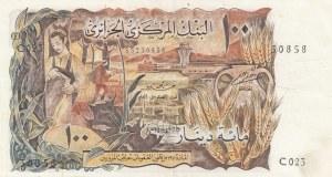 Algeria, 100 Dinars, 1970, XF, p128