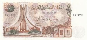 Algeria, 200 Dinars, 1983, UNC, p135