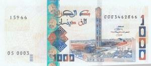 Algeria, 1000 Dinars, 2018, UNC, pNew