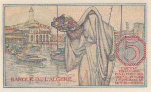 Algeria, 5 Francs, 1944, UNC, p94