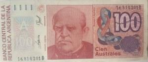 Argentina, 100 Australes Dollars, 1985, UNC, p327e, BUNDLE