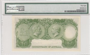 Australia, 1 Pound, 1953, AUNC, QE II, p30