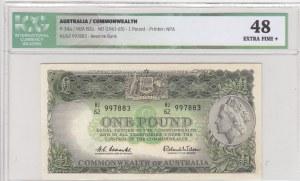 Australia, 1 Pound, 1961, XF (+), p34a