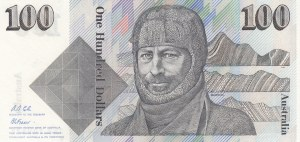 Australia, 100 Dollars, 1992, AUNC, p48d