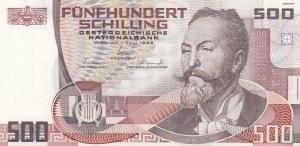 Austria, 500 Shillings, 1985, UNC, p151