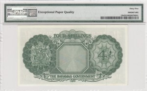 Bahamas, 4 Shillings, 1936, p13b