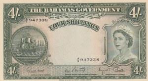 Bahamas, 4 Shillings, 1963, UNC, p13d