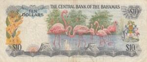 Bahamas, 10 Dollars, 1974, VF, p38a