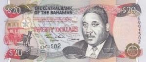 Bahamas, 20 Dollars, 1997, UNC, p65