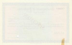 Barbados, 5.000 Dollars, AUNC-UNC, Act of 1922, SPECİMEN