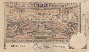 Belgium, 100 Francs, 1920, VF (+), p78