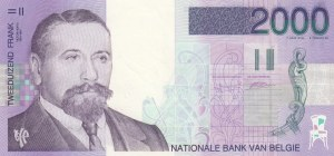 Belgium, 2000 Francs, 1994-2001, UNC (-), p151