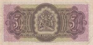 Bermuda, 5 Shillings, 1952, XF, p18a