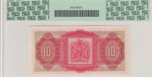 Bermuda, 10 Shillings, UNC, p19b