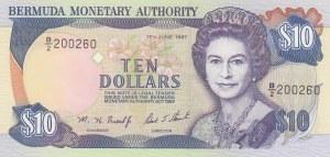 Bermuda, 10 Dollars, 1997, UNC, p42c