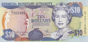 Bermuda, 10 Dollars, 2000, UNC, p52a