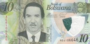 Botswana, 10 Pula, 2009, UNC, p30