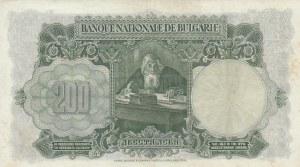Bulgaria, 200 Leva, 1929, XF (+), p50
